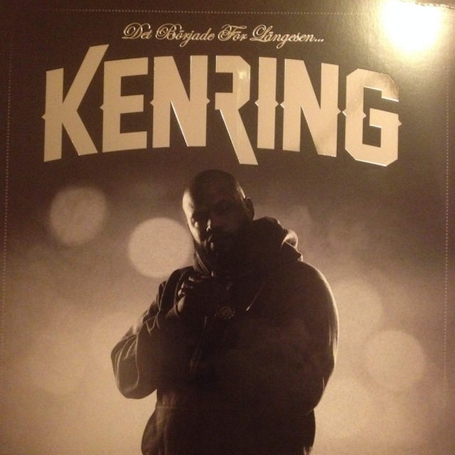 Ken Ring DET BORJADE FOR LANGE Vinyl Record - Holland Release