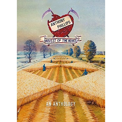 Anthony Phillips HARVEST OF THE HEART: DELUXE CD