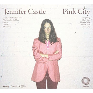 Jennifer Castle PINK CITY CD