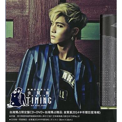 Kim Hyun Joong TIMING CD