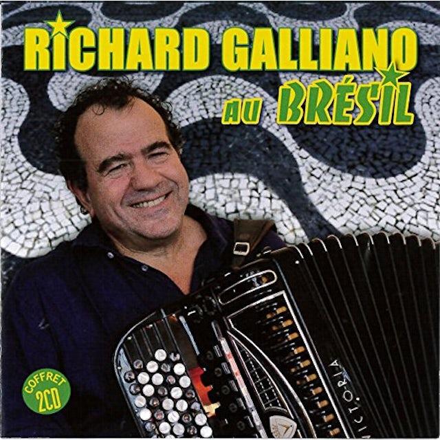 Richard Galliano AU BRESIL CD