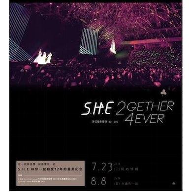 S.H.E 2GETHER 4EVER: 2013 LIVE DVD