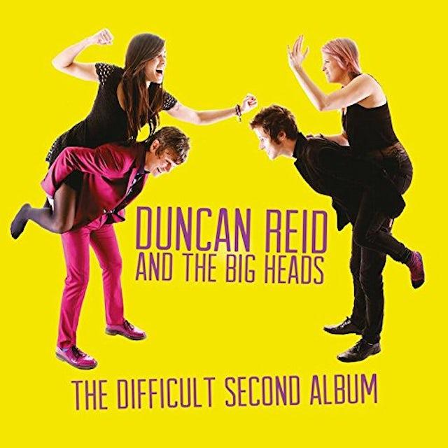 Duncan Reid & The Big Heads DIFFICULT SECOND ALBUM CD