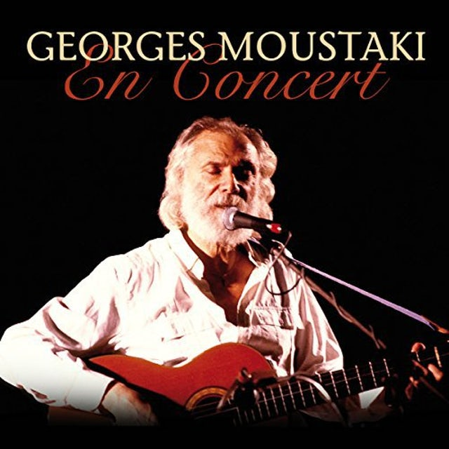 Georges Moustaki EN CONCERT Vinyl Record