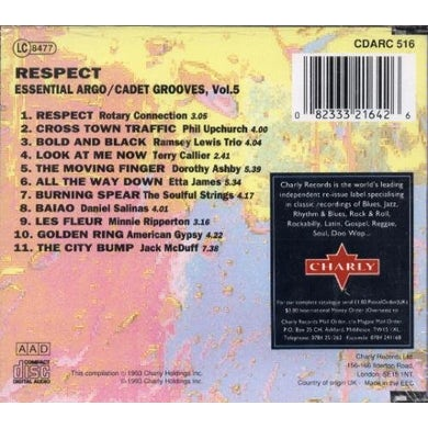 Respect ROTARY CONNECTION / LEWIS,RAMSEY / JAMES,ETTA CD