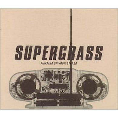 Supergrass PUMPING ON YOUR STEREO CD