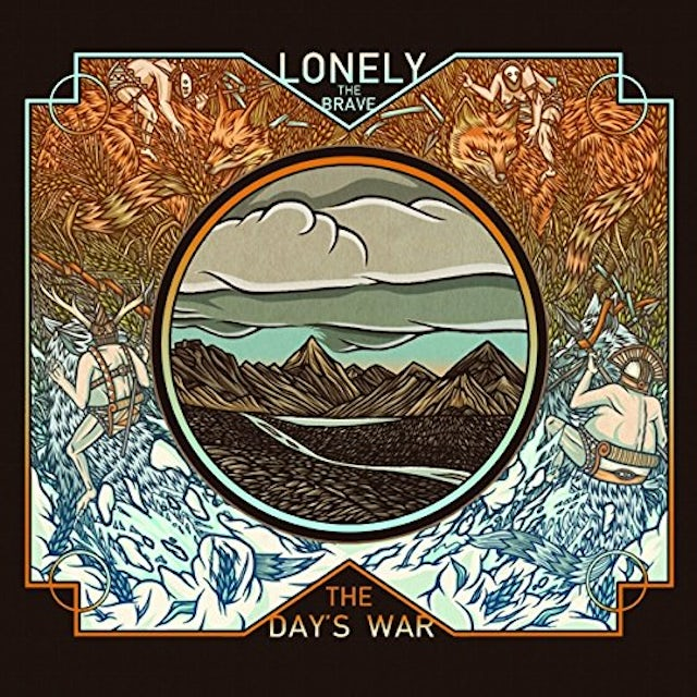 Lonely The Brave DAY'S WAR Vinyl Record