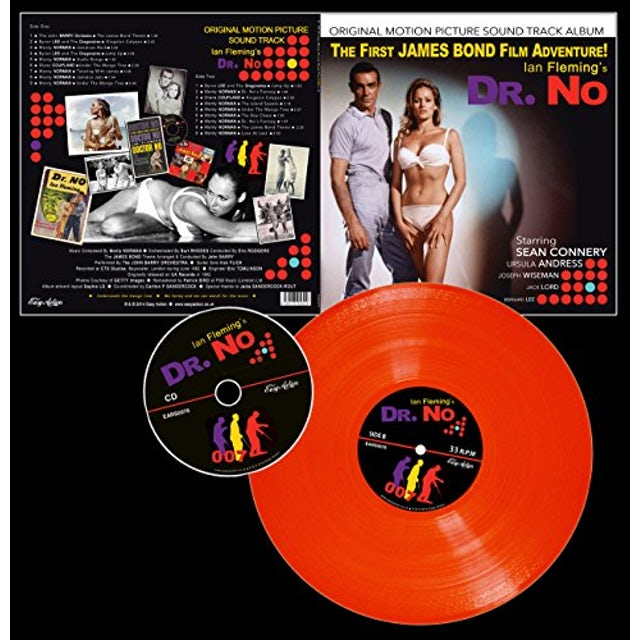 DR. NO / O.S.T. (UK) DR. NO / Original Soundtrack Vinyl Record