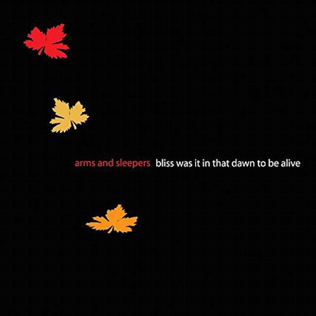 ARMS & SLEEPERS BLISS WAS IT IN THAT DAWN TO BE ALIVE Vinyl Record - UK Release