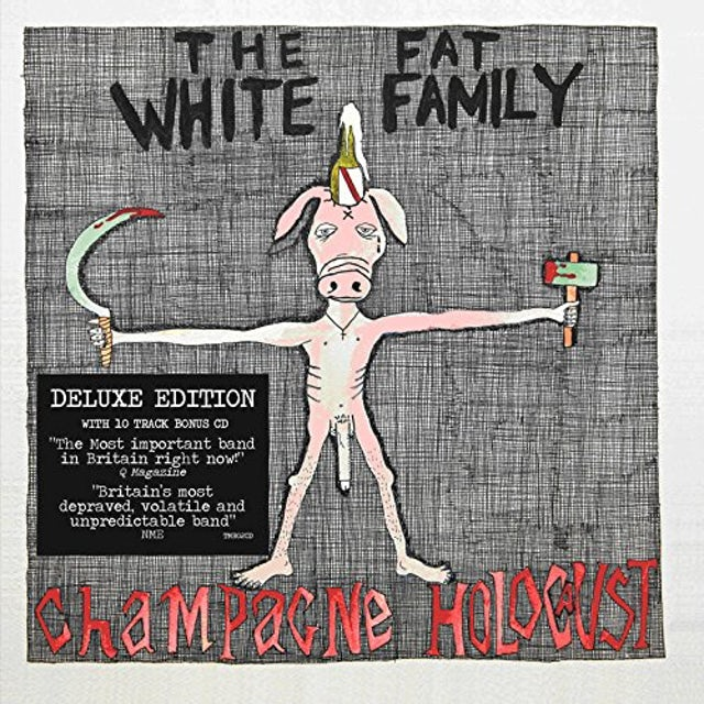 Fat White Family CHAMPAGNE HOLOCAUST: DELUXE EDITION CD