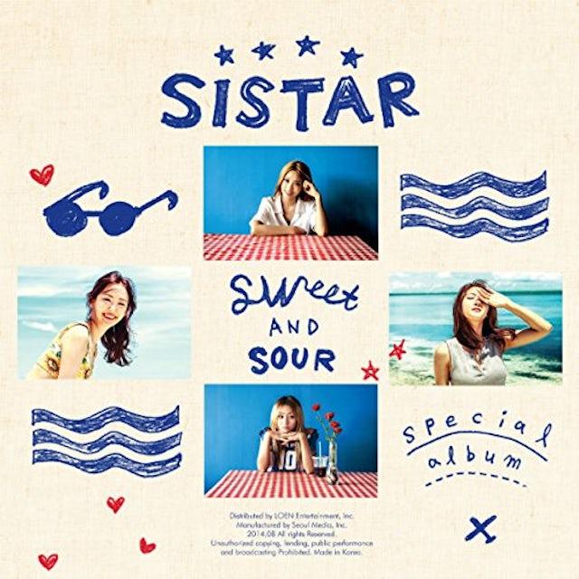 SISTAR SWEET & SOUR CD