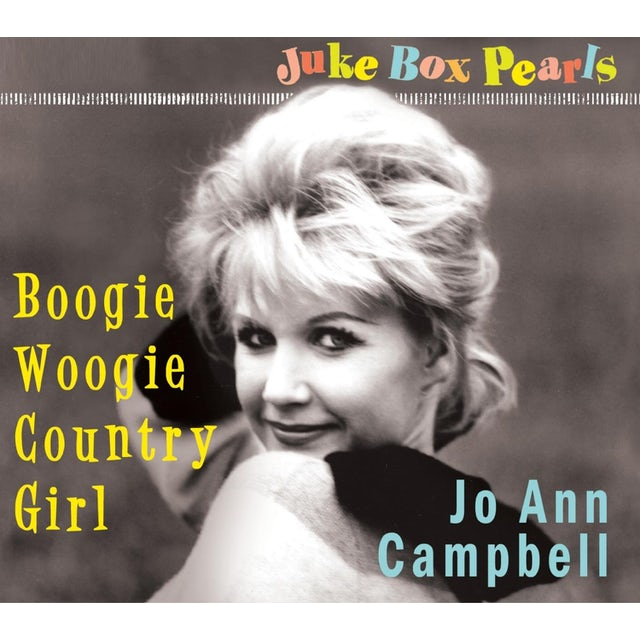 Jo Ann Campbell BOOGIE WOOGIE COUNTRY GIRL CD