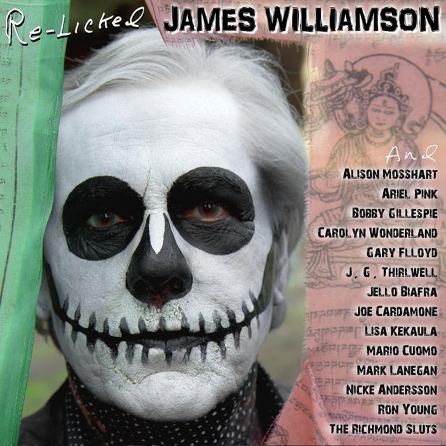 James Williamson RE-LICKED CD
