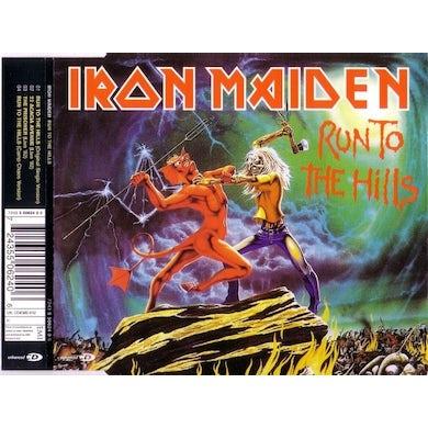Iron Maiden RUN TO THE HILLS Vinyl Record