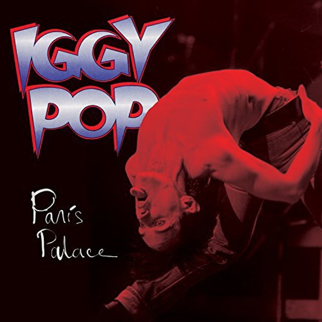 Iggy Pop PARIS PALACE Vinyl Record