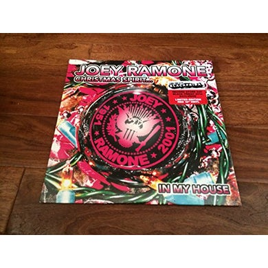 Joey Ramone CHRISTMAS SPIRIT IN MY HOUSE Vinyl Record
