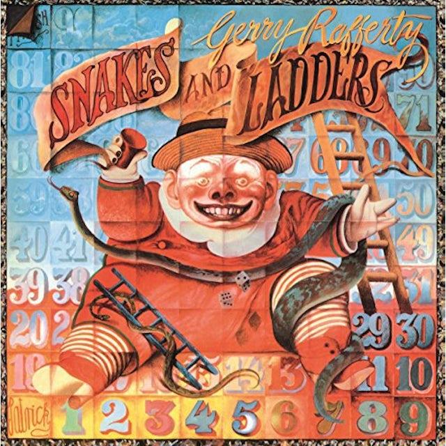 Gerry Rafferty SNAKES & LADDERS Vinyl Record