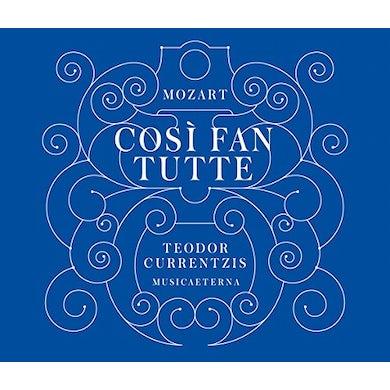 TEODOR CURRENTZIS MOZART: COSI FAN TUTTE CD