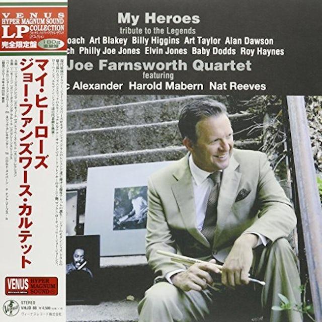 Joe Farnsworth MY HEROES Vinyl Record - Japan Release