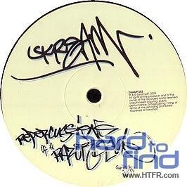 Skream REPERCUSSIONS OF A RAZOR BLADE Vinyl Record