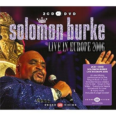 Solomon Burke LIVE IN EUROPE 2006 CD