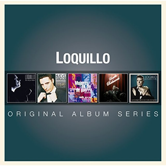 Loquillo ORIGINAL ALBUM SERIES CD