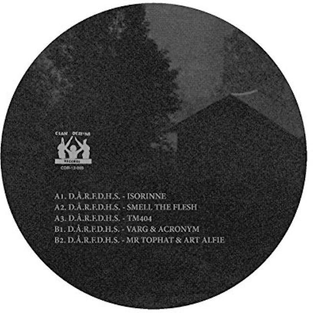D.A.R.F.D.H.S. DET STORA OVSENDET REMIXES Vinyl Record