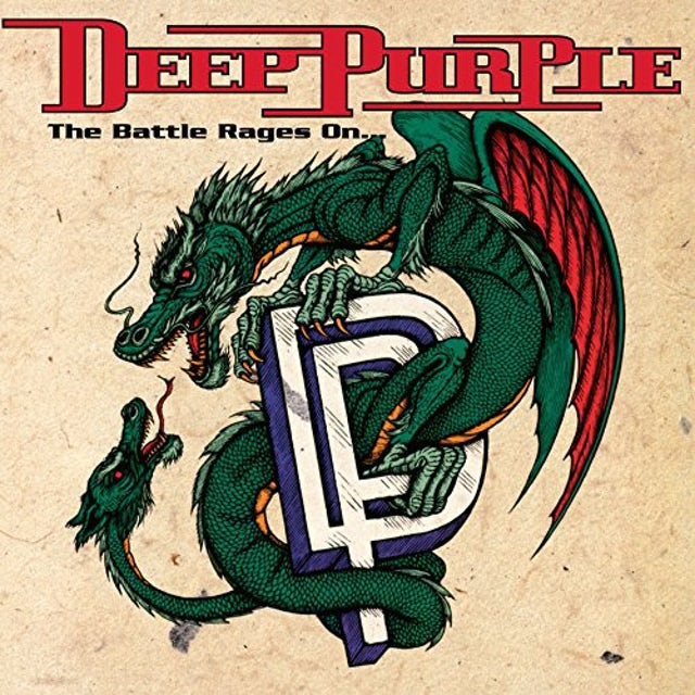 Deep Purple BATTLE RAGES ON Vinyl Record