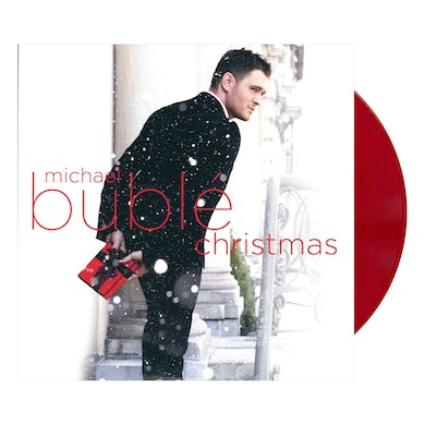 Michael Buble Christmas - Red Colored Vinyl LP Record