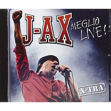 J-Ax MEGLIO LIVE X-TRA CD