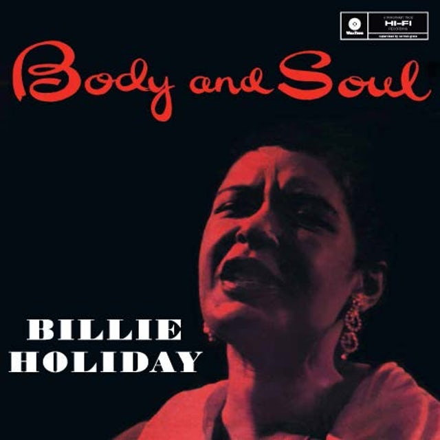 Billie Holiday BODY & SOUL Vinyl Record - Spain Release