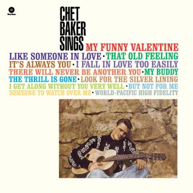 Chet Baker SINGS Vinyl Record - Spain Release
