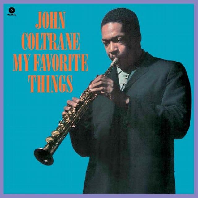 John Coltrane MY FAVORITE THINGS Vinyl Record - Spain Release