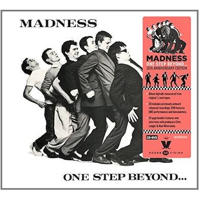 Madness ONE STEP BEYOND 35TH ANNIVERSARY EDITION CD