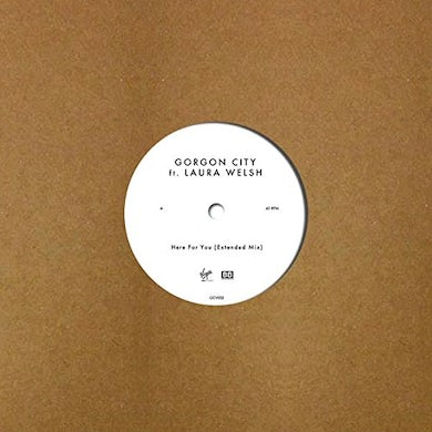 Gorgon City HERE FOR YOU Vinyl Record - UK Release