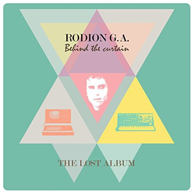 Rodion G.A. BEHIND THE CURTAIN Vinyl Record - UK Release