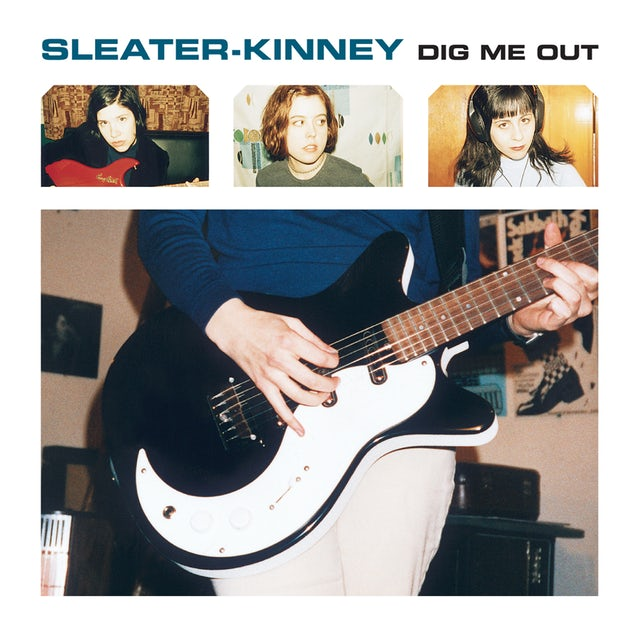 Sleater-Kinney DIG ME OUT CD