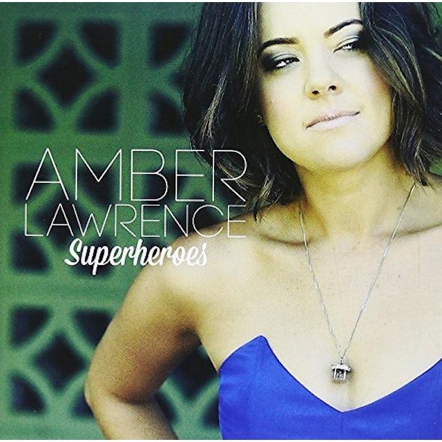 Amber Lawrence SUPERHEROES CD