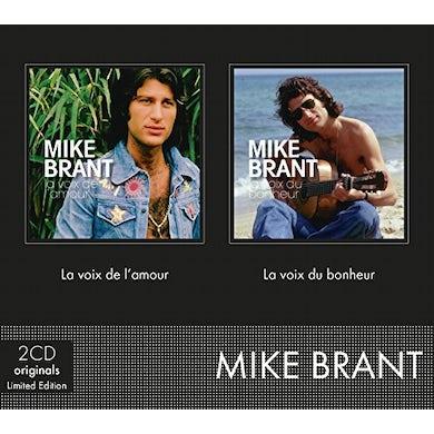 Mike Brant LA VOIX DE L'AMOUR + LA VOIX DU BONHEUR CD