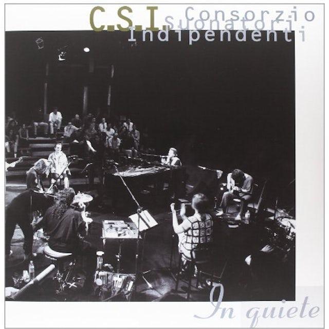 C.S.I. IN QUIETE Vinyl Record - Italy Release