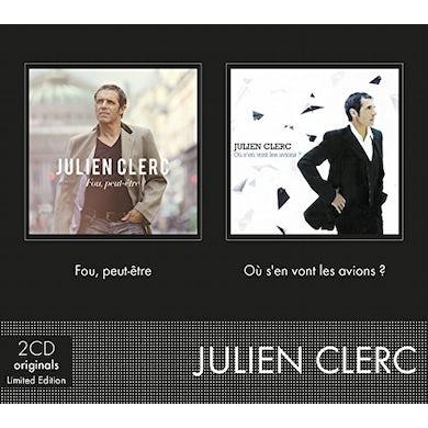 Julien Clerc FOU PEUT-ETRE + OU S'EN VONT LES AVIONS CD