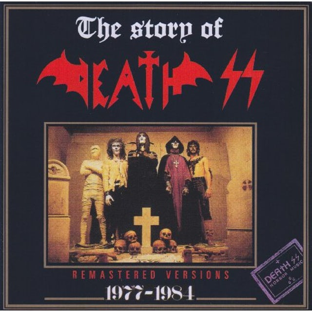 STORY OF DEATH SS 77-84 CD