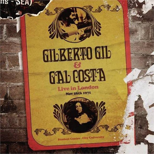 Gilberto Gil LIVE IN LONDON CD