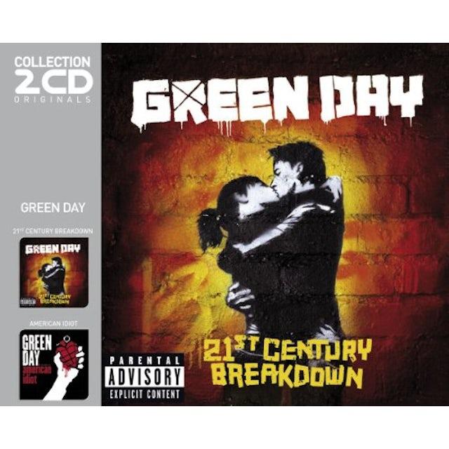 Green Day 21ST CENTURY BREAKDOWN + AMERICAN IDIOT CD