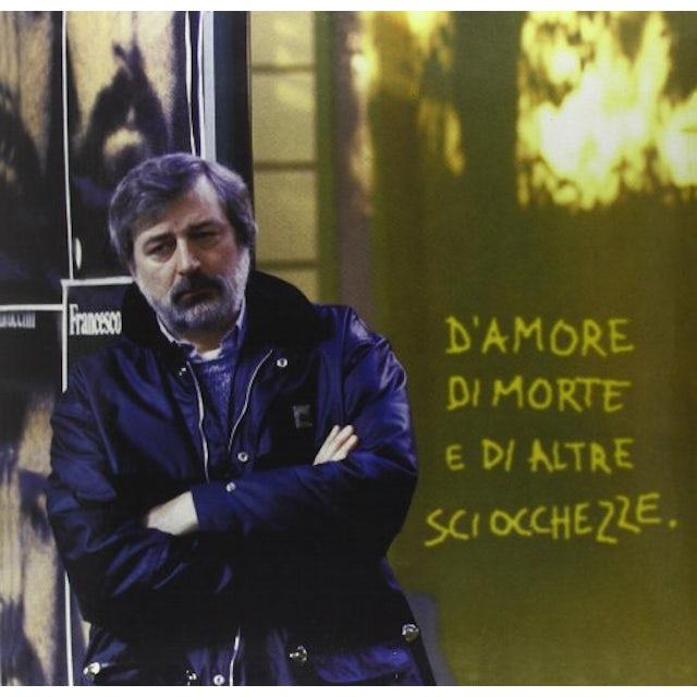 Francesco Guccini D'AMORE DI MORTE E DI ALT Vinyl Record