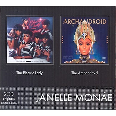 Janelle Monae ELECTRIC LADY + THE ARCHANDROID CD