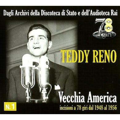 Teddy Reno VECCHIA AMERICA-INCISIONI CD