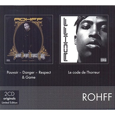 Rohff POUVOIR-DANGER-RESPECT & GAME CD