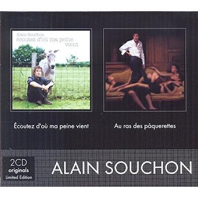 Alain Souchon ECOUTEZ D'OU MA PEINW VIENT CD