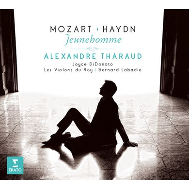 Alexandre Tharaud JEUNE HOMME-MOZART & HAYDN CD